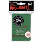 60 Ultra Pro Deck Protector - Pro-Matte Green - Small...