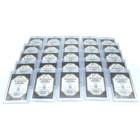 25 x Docsmagic.de Magnetic Card Holder Clear 35 PT UV...